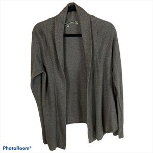 Knitted & Knotted Open Front Cardigan Med. #1192